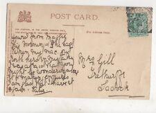 Grampound Road 9 Sep 1904 Squared Circle Postmark 405b