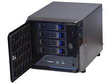 Norco ITX-S4 Black Mini-ITX Form Computer Storage Case Computer Storage Case
