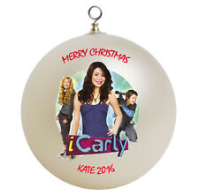 Personalized i Carly Christmas Ornament Add Name Here