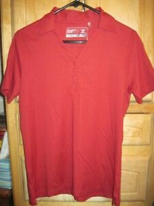 CUTTER & BUCK Med. Womens Ladies Golf CB DryTecLuxe CHAMPIONSHIP Polo Shirt NWT