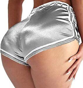 High Waist Shorts Butt Lift Scrunch Yoga Pants Booty Gym Tik Tok Womens Leggings