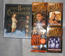 The Buffy Chronicles + 4 Books Buffy the Vampire Slayer Xander Years Willow