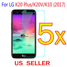 5x Clear LCD Screen Protector Guard Cover Film For LG K20 Plus / K20V /K10(2017)