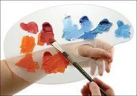 Creative Mark Quinn Clear Acrylic Palette - Parent