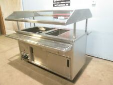 """Randell"" H.D. Commercial (Nsf) 1 Hot & 2 Cold Pans Portable Soup & Salad Bar"