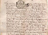 Généralité de Provence 1692 acte Sault Simiane généalogie AUBIER Alpes Haute Pro