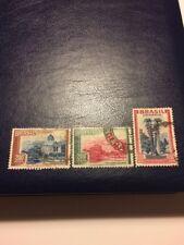 Brasil Stamp 1937-38 USED Landscapes Part