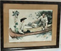 Rare 1905 Howard Chandler Christy Original Signed Lithograph Print
