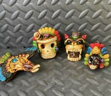 Aztec Sonidos/Whistles Set Of 4 Includes Small Death Whistle
