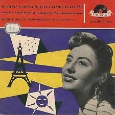 """CATERINA VALENTE""""  De Paris A Grenade Avec Caterina Valente"""" 7"""" EP GERMANY PRES"""