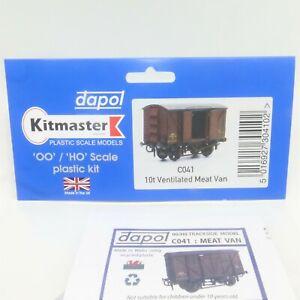 Dapol Kitmaster OO Gauge 10t Ventilated Meat Van Wagon Kit (C041) - Brand New