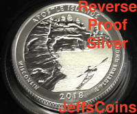2018 S REVERSE Apostle Island 90% Silver Proof Park Quarter Wisconsin ATB Best