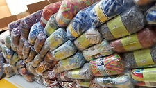 JOB LOT WOOL new ASSORTED COLOURS hand knitting wool YARN MEGGA DEAL1000 BALL ,,