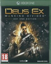 Xbox ONE Deus Ex Mankind Divided Day One Edition BRAND NEW