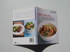 Last-minute Meals Australian Women's Weekly Cookbook mini 64 pages vgc
