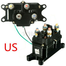 Universal Solenoid Relay Contactor Winch Rocker Switch Thumb Car ATV UTV