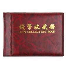 Album Numismatique Collection de Pièces de Monnaie Rangement 60 Compartiments