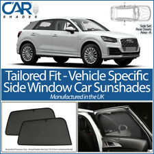 AUDI Q2 5 DOOR 2016> CAR SHADES UK TAILORED UV SIDE WINDOW SUN BLINDS
