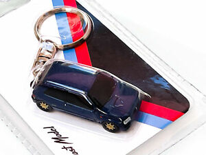 Z Models Renault Clio Williams Keyring, Roughly OO Scale, Ideal For Model Railwa