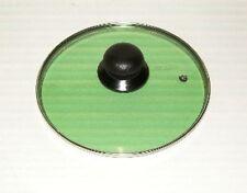 Tapa 24cm/9.4 pulgadas diámetro stineless Acero Borde Verde Calidad Garantizada