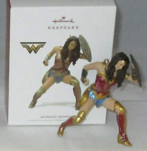 2018 Hallmark Wonder Woman Justice League (NEW)