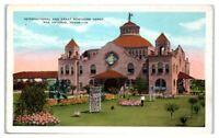 Early 1900s International and Great Northern Depot, San Antonio, TX Postcard