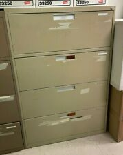 """New listing * Used Lateral File Cabinets 4 Drawer 18"""" Deep x 36"""" Wide x 53 3/8"""" Tall"""