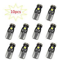 10Pcs T10 168 2825 W5W 194 6000K LED Bulb 3030 SMD Interior Car Light 12V DC