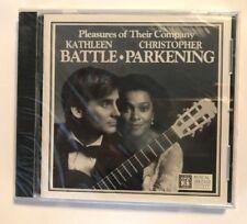 Kathleen Battle & Christopher Parkening CD Pleassures of Their Company 1995 New