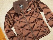 THE NORTH FACE Girls Kids Brown Puffer ACONCAGUA 55O DOWN COAT Jacket Medium