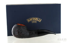 Pipe Savinelli LA PUNTO ORO GOLD 320 KS Sandblasted shape author made Italy