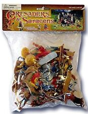 Plastic Toy Soldiers Crusades Turks and Saracens Camels Painted Figure Set 16