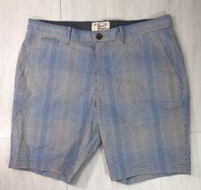 Original Penguin Munsingwear Mens Shorts Flat Front Ombre Checkered Size 36