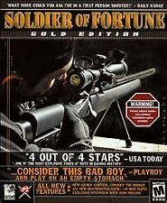 Soldier of Fortune:  Gold Edition (PC, Jewel Case, 2000)**DISC only**