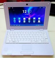 "10"" NETBOOK MINI LAPTOP WIFI ANDROID 4.4.2 VIA WM8880 1.5GHz NOTEBOOK Xmas Gift"