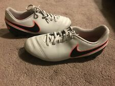 Boys Grey Nike Football Boots - UK Size 5