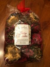 Carolina Holiday Poinsettia SCENTED POTPOURRI 8oz  NEW! Sealed!