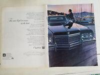 1973 Cadillac Car Two Page Original Color Ad
