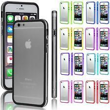 Handy Hülle iPhone SE 5 5S 4 4S 5C Schutz TPU Bumper Case Silikon Rahmen Cover