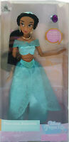 Official Disney Store Princess Jasmine Aladdin Classic Doll With Ring Toy Figure