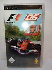 Formel Eins 2006 - F1 06 - PSP - Playstation Portable - Spiel - Game - OVP #H