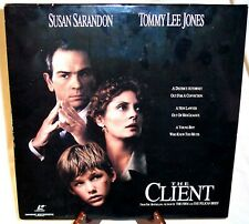 """Warner Home Video - """"The Client"""" - widescreen edition laserdisc"""