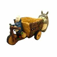 My Neighbor Totoro Studio Ghibli Planter Cover Forest Tricycle from Japan