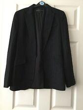 """ladies """"Marks & Spencer"""" Limited Edition Black Smart  Jacket - Size 8"""
