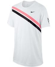 Nike Dri-Fit Tennis T-Shirt Jungen XL 158-170 Roger Federer Australien Open weiß