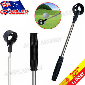 2M Golf Ball Scoop Pick Up Retriever Stainless Steel Tool Saver Shaft NEW