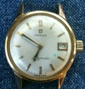 OMEGA Swiss Ladymatic SEAMASTER Ladies Vintage Watch PARTS ONLY