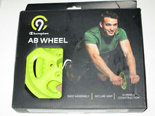 Champion Ab Wheel New Home Exercise Fitness Easy Assembly Grip Handles