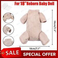 """REBORN DOE SUEDE BODY ONLY  20/"""" GATHERED FOR 3//4 LIMBS 7451"""