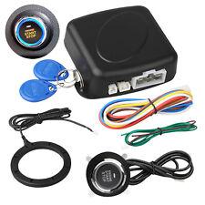 12V Car Engine Push Start Stop Button Ignition RFID Keyless Remote Starter Alarm